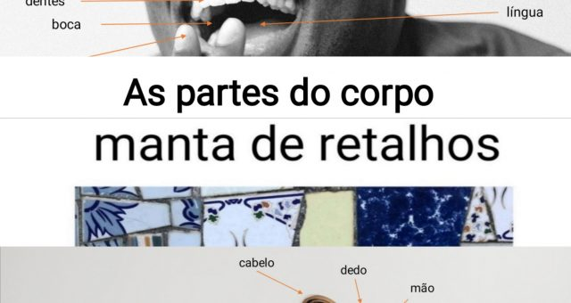As partes do corpo |Parts of the body